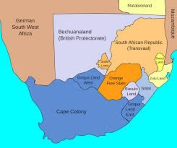 Britain Officially Annexes South Africa