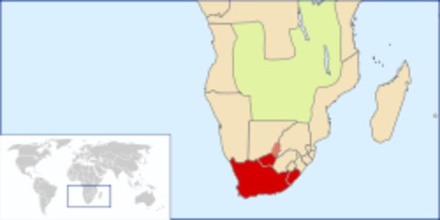 British Declares Control Over Cape Colony