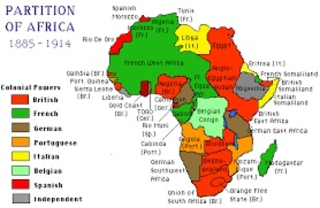 British Partition Of West Africa