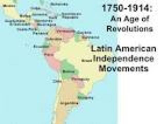 Most Of Latin America Becomes Independent