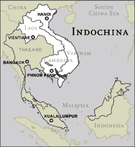 France Has Control Of Indochina
