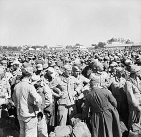 Rendició nazi a l'Àfrica
