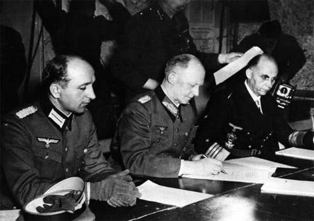 Rendició alemanya