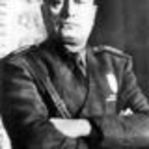 Destitució de Mussolini