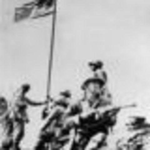 Victòria en la Batalla de Iwo Jima