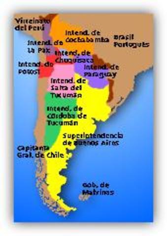 Creación del Virreynato del Río de la Plata