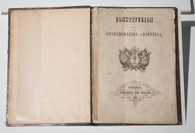 Creación de la Constitución Nacional