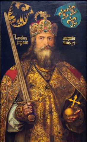 La Coronacion de Carlomagno
