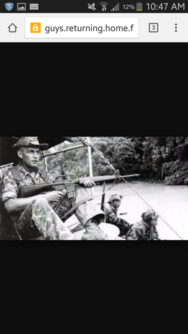 Uncle's Return Home from Vietnam War.