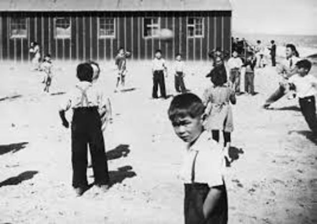 Internment camp of Japanese