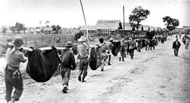 Loss of Philippines & Bataan Death March