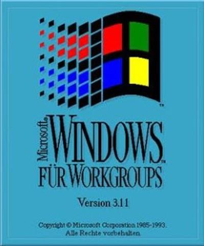 Windows 3.11 (1993)