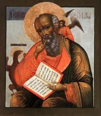 Death of John, the last apostle