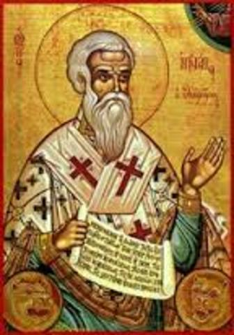 Martyrdom of St. Ignatius of Antioch