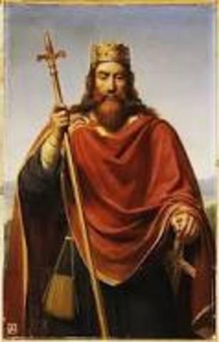 Clovis King of the Franks