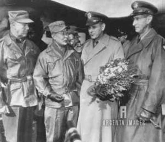 Eisenhower replaces the frustrated Van Fleet with Lt. Gen. Maxwell Taylor.