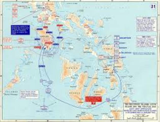 Loss of the Philippines