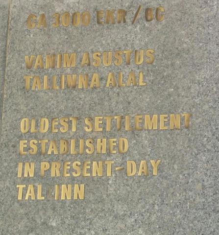 Vanim asustus Tallinna alal