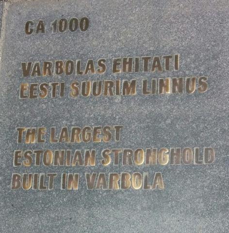 Varbolas ehitati Eesti suurim linnus
