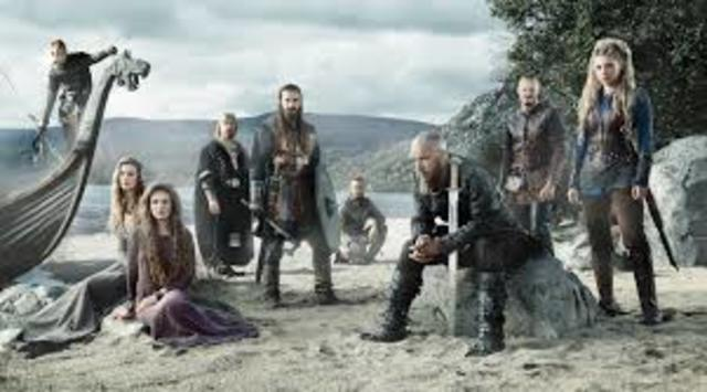 Viking invade Northern Europe