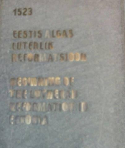 Eestis algas luterlik reformatsioon