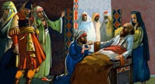 Muhammad dies