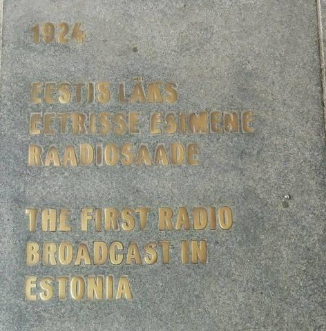 Eestis läks eetrisse esimene raadiosaade