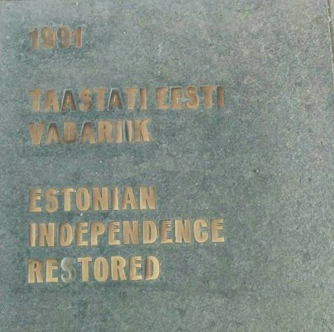 Taastati Eesti vabariik