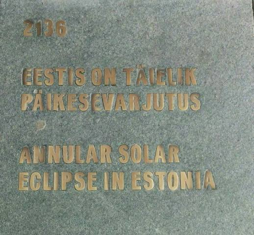 Eestis on täielik päiksevarjutus