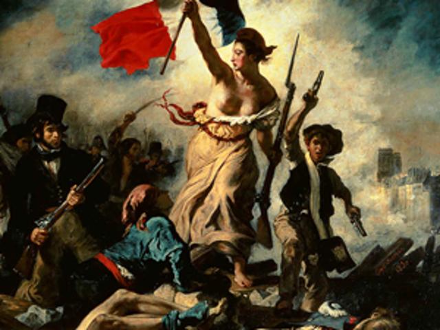 Toma de la Bastilla en Francia