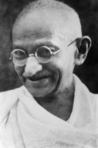 Gandhi As Leader
