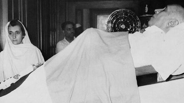 Nehru's Passing