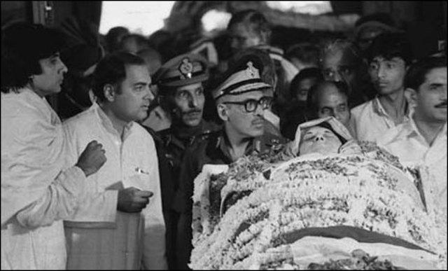 Indira's Passing