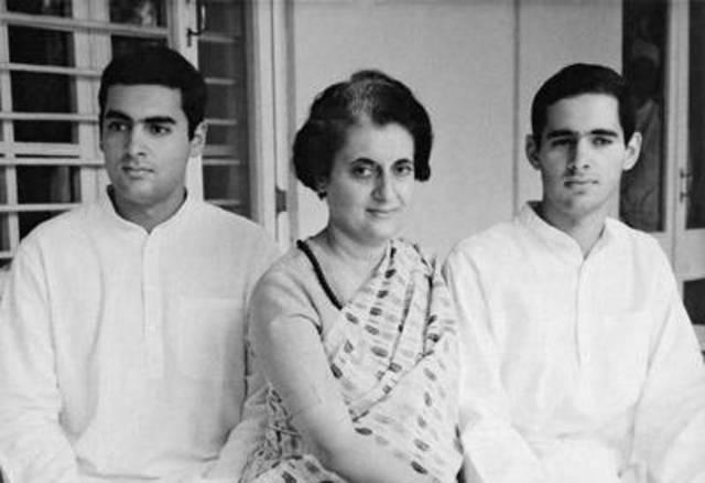 Indira's Son