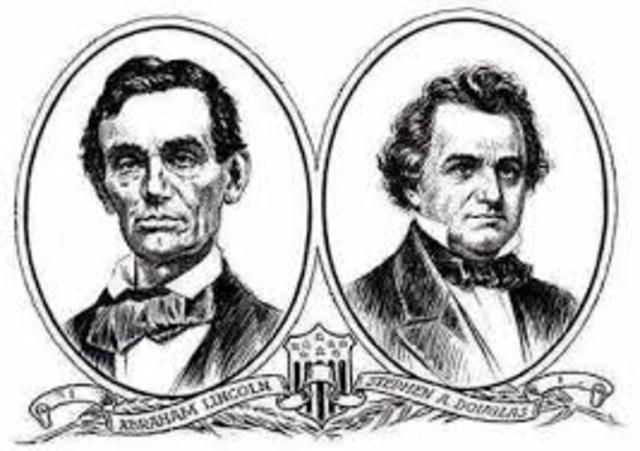 Douglas and Lincoln debates
