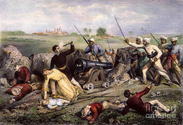 Indians Start to Rebel & The Sepoy Mutiny.