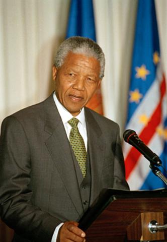 Mandela becomes President