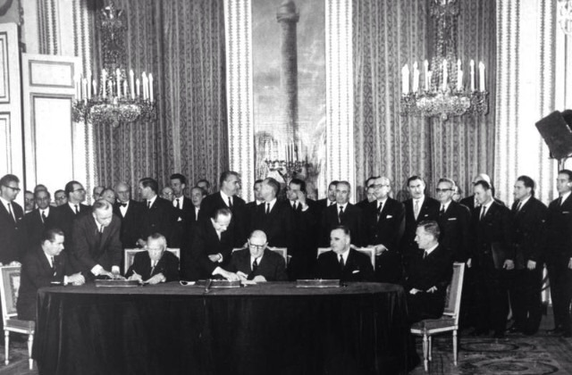 Elysee Agreement Signed