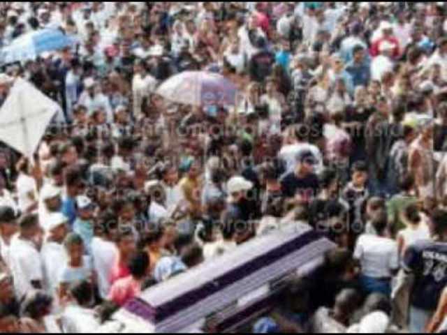 Dolor en Olaya Herrera por muerte de la mujer del 'Jhonky'