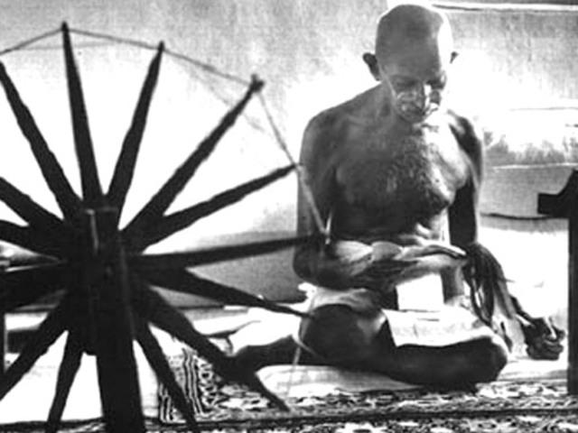 Gandhi begins a fast for 21 days