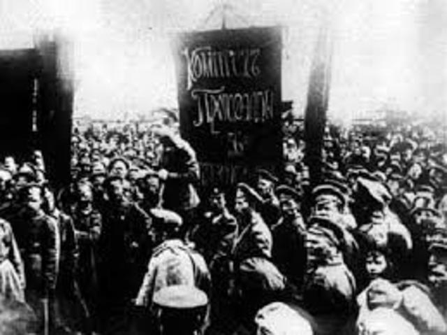Revolución Rusa en 1917