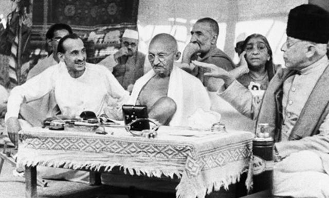 Gandhi is Arrested