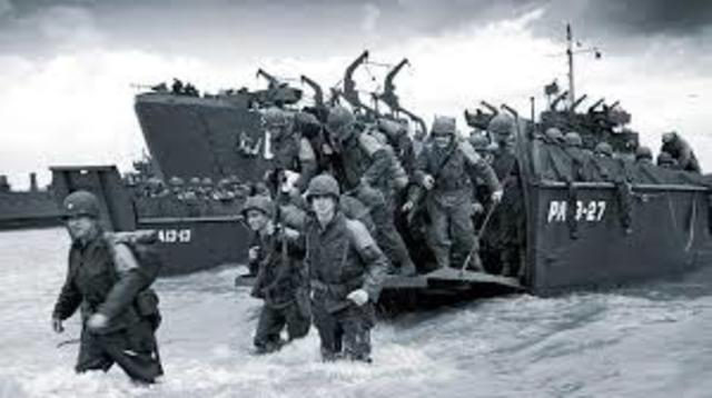 Desembarco aliado en Normandía