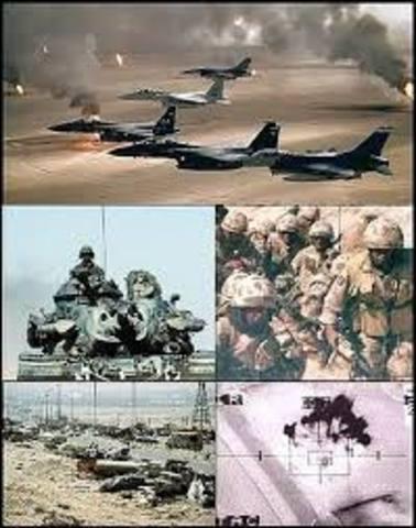 La guerra del Golfo Pérsico