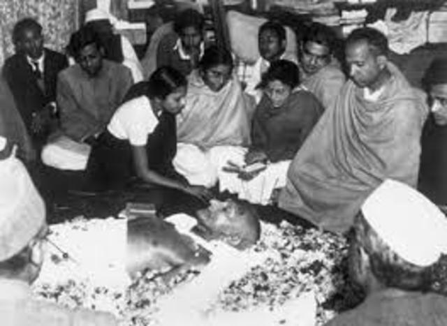 Asesinato del Mahatma Gandhi