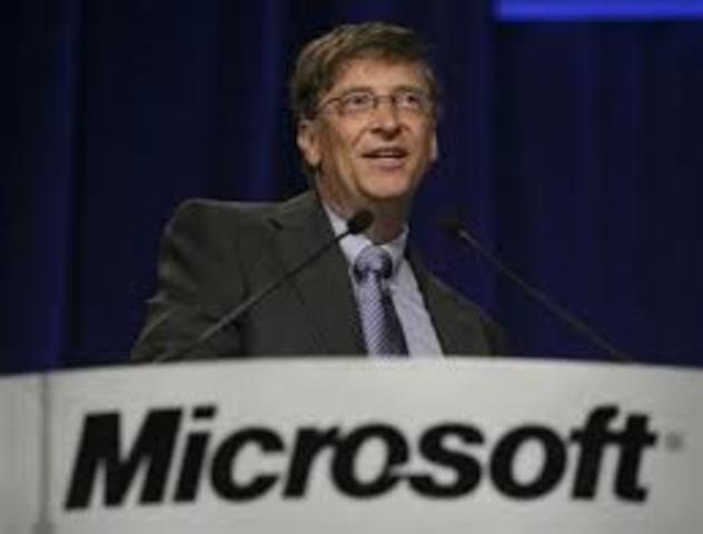 Creación de la Microsoft Coporation