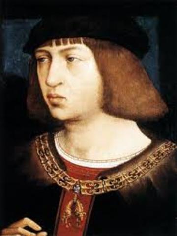 FELIPE I de Castilla accede al trono de España