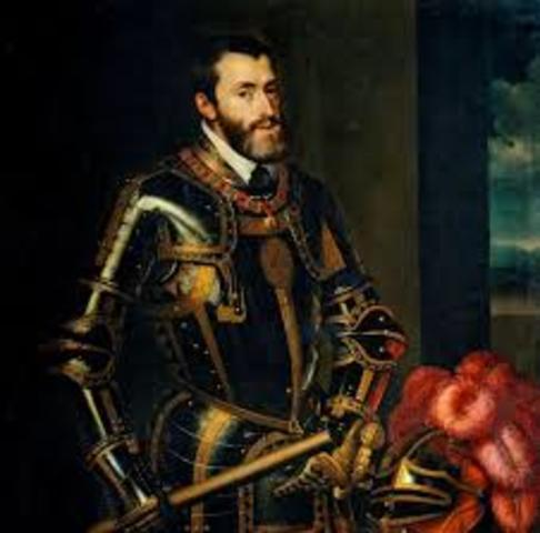 CARLOS I accede al trono de España