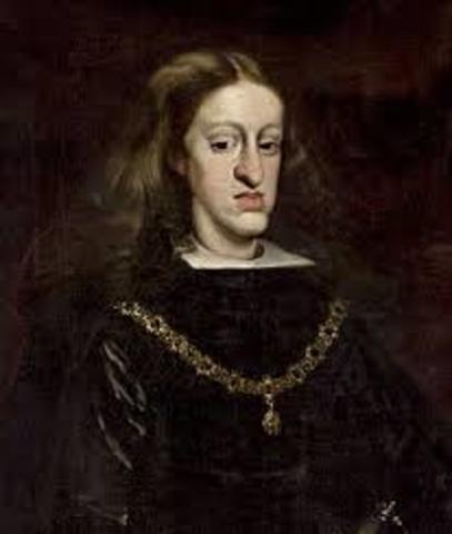 CARLOS II accede al trono de España