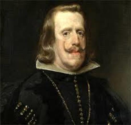 FELIPE IV accede al trono de España